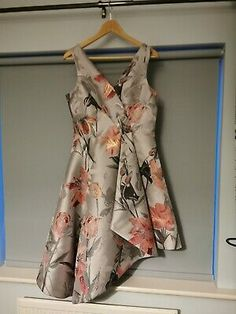 Coast Ball Gown - Prom - Occasion - Dress - size Condition is Used. Dispatched with Royal Mail Class. <br> <br>Worn once, perfect condition Maxi Dresses Uk, Size 14 Dresses, Summer Dresses, Silver Grey Dress, Gray Dress, Coast Dress, Bardot Dress, Ball Gowns Prom, Royal Mail