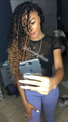 3 Clear Tips AND Tricks: Cornrows Hairstyles Corn Rows boho hairstyles shoulder length.Easy Cornrows Hairstyles bun hairstyles with bangs. Faux Locs Hairstyles, Hairstyles Over 50, My Hairstyle, Hairstyles For Round Faces, Black Girls Hairstyles, Vintage Hairstyles, Formal Hairstyles, Wedding Hairstyles, Ladies Hairstyles