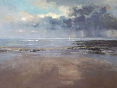 Peter Beeson - painterly, slightly abstract landscapes