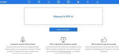 SmallPdf. Convertir un fichier Pdf en Word