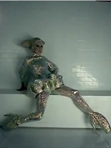 Lady Gaga in Alexander McQueen