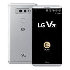 LG V20 H990DS 64GB 57Inch 16MP  8MP 4G LTE Dual SIM FACTORY UNLOCKED  International Stock No Warranty SILVER >>> Visit the image link more details.