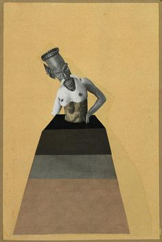 Hannah Hoch From the series From an Ethnographic