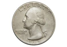 A 1965 silver quarter is rare because in 1965 U. quarters were supposed to be made of copper-nickel clad. How to tell if you have one + A list of other transitional error coins. Old Coins Value, Value Of Silver Coins, Rare Pennies, Old Coins Worth Money, Valuable Coins, Valuable Pennies, Silver Quarters, American Coins, Error Coins