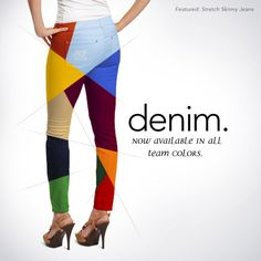 Team Denim | Stretch Skinny Jeans | meesh & mia