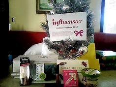 @Influenster my goodies from Holiday VoxBox 2012 Hair brushed with @Goody quikstyle.Lips perfect @nycnewyorkcolor,tummy full with yummy@quaker real medleys.Boost my energy with pink lemonade from @eboost. Now let's shop for the #perfect pair of shoes @ Sole Society with the $25 coupon. Must be able to show off my toes that are now tipped with@KISS nail dress.