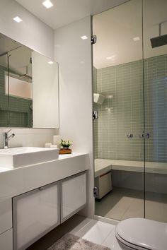 Apartamento Vieira Souto / Andrea Chicharo #bathroom