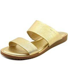 eef2720e1bdb Michael Michael Kors Millie Slide Women US 9 Gold Slides Sandal