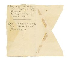 The Gorgeous Nothings: Emily Dickinson's Envelope Writings | New ...
