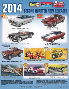 new release plastic model car kitsRemembering Revell Model Kits  Car  Truck Scale Models