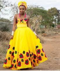 Image result for tsonga traditional dresses African Traditional Wear, African Traditional Wedding Dress, Traditional Wedding Attire, Tsonga Traditional Dresses, African Fashion, High Waisted Skirt, Bride, Summer Dresses, Elegant