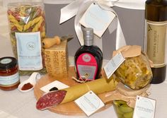 Fantastic Italian Food  Selection Gift Box https://goo.gl/4Hm4c6 #pasta #parmigianoreggiano #cheese #appetizer #salami #vinegar #qualityfood