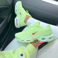 nike airmax shoes size women's Cute Sneakers, Sneakers Nike, Green Sneakers, Latest Sneakers, Nike Air Shoes, Nike Plus Shoes, Nike Shoes For Sale, Aesthetic Shoes, Hype Shoes