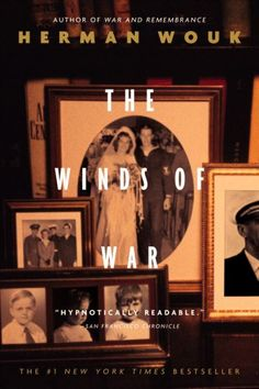 The Winds of War (The Henry Family Saga) by Herman Wouk. As World War II escalates in Europe, the Henry clan, a family of American naval heroes, is drawn into the conflict and must send its sons into the fray. (Book 1 of 2)