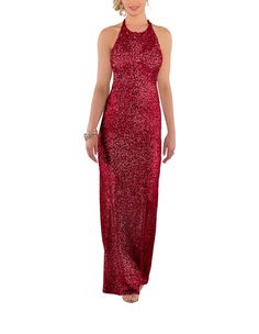 Take a look at this gorgeous Sorella Vita Style 8846 bridesmaid dress in red sequin fabric! Available in sizes 2-28 and tons of colors at Brideside. Shop online, try at home or visit one of our showrooms!