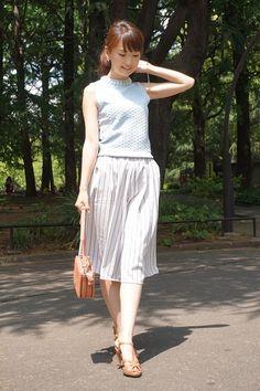 身長150cm台のガウチョの正解着こなし実例12【Sレディ研究】 #AneCan #fashion #ガウチョ #Sサイズ #ootd