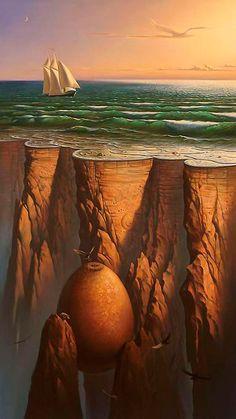 Vladimir Kush - I love his art!