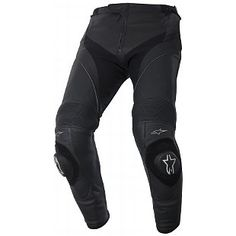 Alpinestars Missile Leather Pants - RevZilla Motocyklové Helmy e807d3b030b