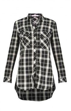 72329cd0fec6 Γυναικείο πουκάμισο καρό POUK-1639-wh Γυναίκα-Μπλούζες και πουκάμισα