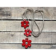 Thae - Sautoir fleurs cravate