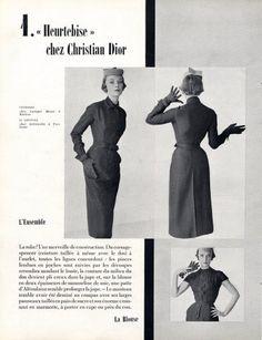 Christian Dior 1950 ''Heurtebise'', Tabard Fashion Photography
