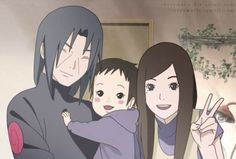 Itachi and Izumi Family♥♥♥ #sad #AnotherLife