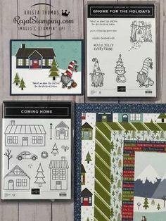 Stampin Up Christmas, Christmas Minis, Christmas Cards To Make, First Christmas, Holiday Cards, Christmas Holidays, Xmas, Stamping Up, Rubber Stamping