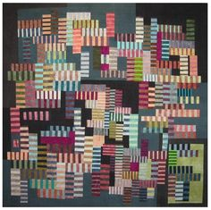 quilt by Erin Wilson.... wow, so different from what I have previously seen of her work.