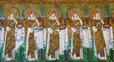 Procession of the Vestal Virgins Ravenna