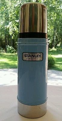 Stanley Stainless Thermos 16 Ounces Green Classic Aladdin Vacuum Bottle for sale online Stanley Cooler, Aladdin, Hiking, Tent Camping, Coffee, Kitchen And Bath, Lunch Box, Metal, Green