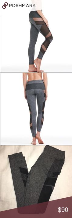 MESH PANAL LEGGINGS IN CHARCOAL 😍SUPER CUTE, TOP SELLING,HIGH QUALITY & FIT , MY OTHER LEGGING OBSESSION ! Mesh panel leggings in charcoal. I have a few in stock in various sizes. Front waist pocket slit to slip In your iPod/money/key  📱. Super cute leggings !  88% polyester 12% spandex. 📌PRICE IS FIRM UNLESS BUNDLED  📌NO TRADES  📌SMALL=4-6 MED =6-8 LARGE=8-10 CHECK OUT MY AMAZING SELLING FEEDBACK ! HAPPY POSHING ! Pants Leggings