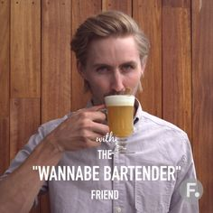 """For Friendsgiving, the """"wannabe bartender"""" makes warm apple cider punch."""