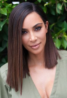 See all of Kim's amazing hairstyles of 2015!
