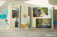 Avec les photos et les vidéos intégrées: mini-album Efteling, pour EmbelliScrap ~ Pour tes beaux yeux...