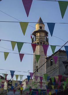minaret, Nablus, Palestine