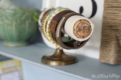 DIY Bracelet Holder | The Lettered Cottage | Cuffs by Farmgirl Paints and Lucy Lockets