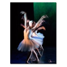 Abstract Dancers Canvas Art by Mha Guerra - MG002-C1