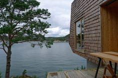 Hytte på Skåtøy utenfor Bergen.=