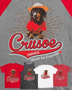 LAST DAY for all Crusoe tees