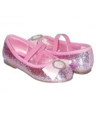 These went perfect with my daughter's birthday dress.   Pink and flashy!!!!   So fun and lots of complements!!!!