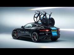 Jaguar present Team Sky with concept Tour de France F-Type - YouTube