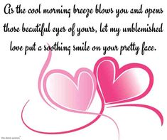 Good morning love messages along with sweet and romantic good morning love quote. Send these romantic good morning messages to convey your love. Good Morning Wife, Good Morning Wishes Love, Good Morning Letter, Morning Message For Him, Good Morning Sweetheart Quotes, Romantic Good Morning Messages, Cute Good Morning Texts, Message For My Girlfriend, Message For My Love