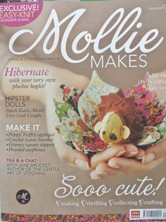 Mollie Makes Creative Arts Magazine Back by TwoOfAKindSupplies
