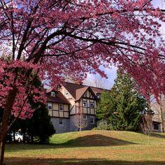 Ott Hall look stunning in the spring! www.eastern.edu