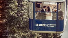 Take a private skyride to your wedding or reception at Grouse Mountain - The Peak of Vancouver