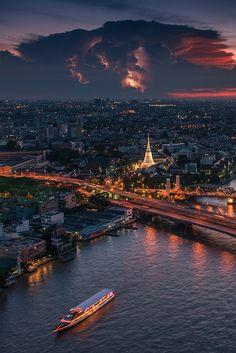 "heaven-ly-mind: "" Along Chaophraya River """