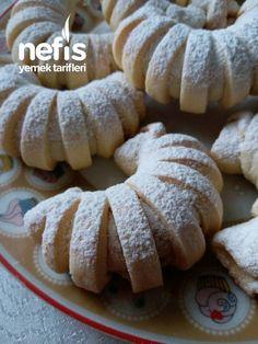 Elmalı Kurabiye – Nefis Yemek Tarifleri – – Kurabiye – The Most Practical and Easy Recipes Cake Mix Recipes, Cookie Recipes, Dessert Recipes, Cake Mixes, Apple Cookies, Pastry Art, Turkish Recipes, Food Presentation, No Bake Desserts