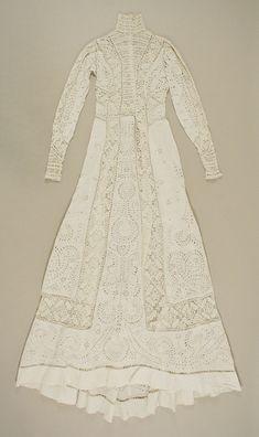 """omgthatdress: """" Dress 1895-1899 The Metropolitan Museum of Art """""""