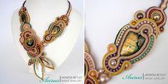 Ожерелья Aurus Jadwiga Soutache Necklace, Necklaces, Drop Earrings, Jewelry, Fashion, Moda, Jewlery, Jewerly, Fashion Styles