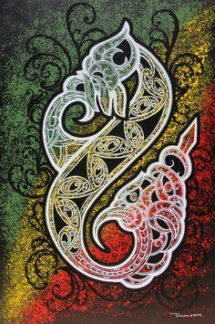 chur bro image - Google Search Polynesian Designs, Polynesian Art, Maori Designs, Maori Symbols, Maori Patterns, New Zealand Art, Nz Art, Sculpture Art, Ice Sculptures
